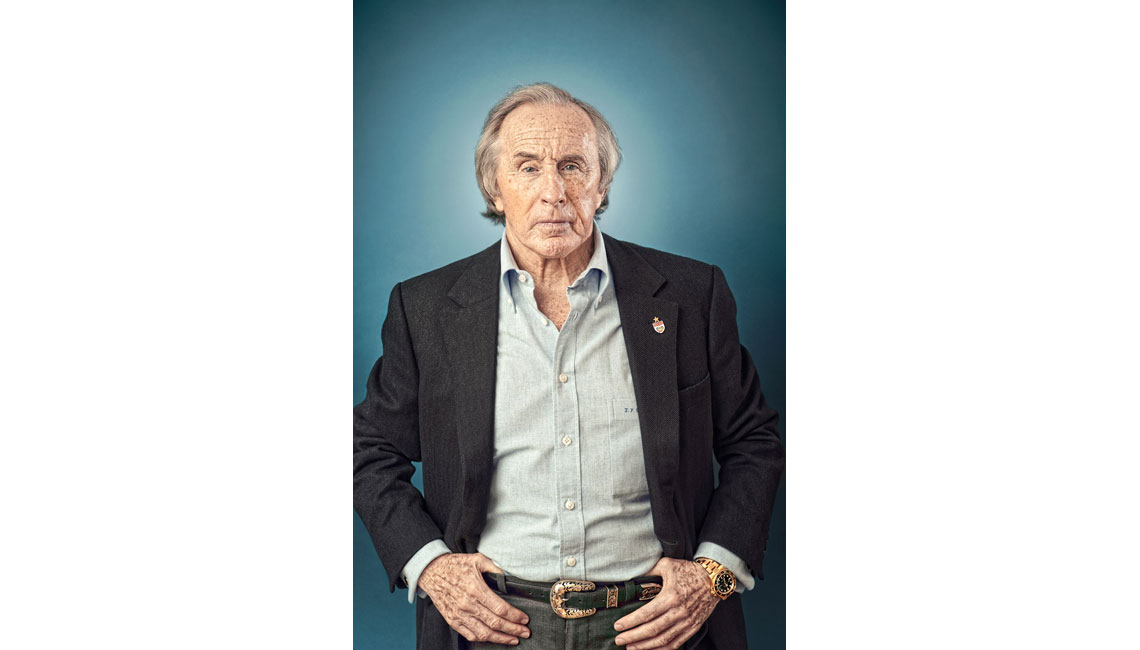 sport lifestyle travel portrait advertising photographer photography motorsport formula 1 one sir jackie stewart Alex Shore Jackie Stewart
