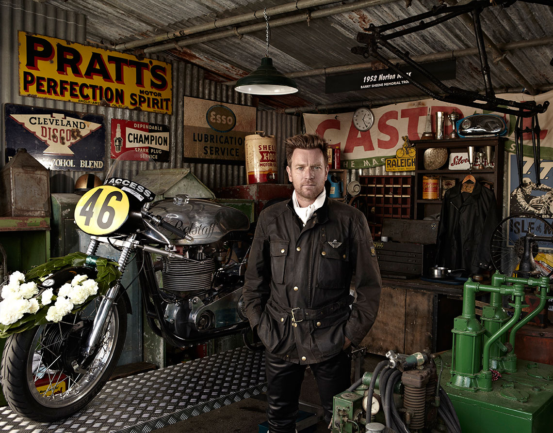 sport lifestyle travel portrait advertising photographer photography motorcycle motorsport belstaff ewan mcgregor Alex Shore Ewan McGregor | Belstaff