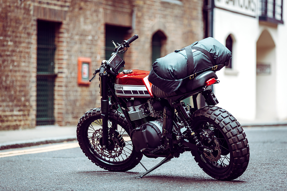 lifestyle advertising photographer motorcycle fashion luggage Alex Shore Malle | London